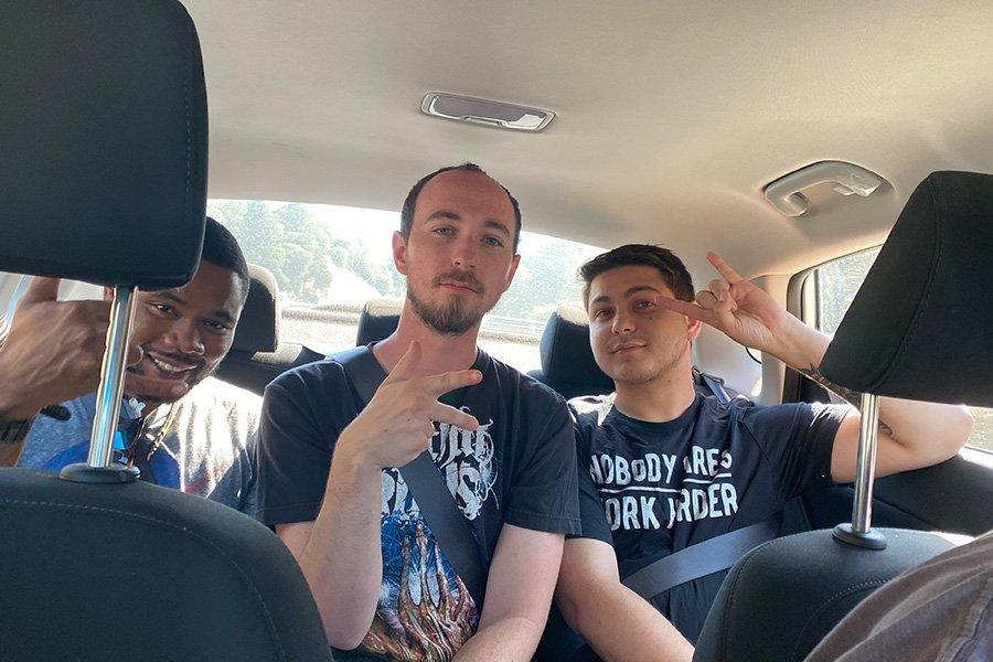 Staff In Car