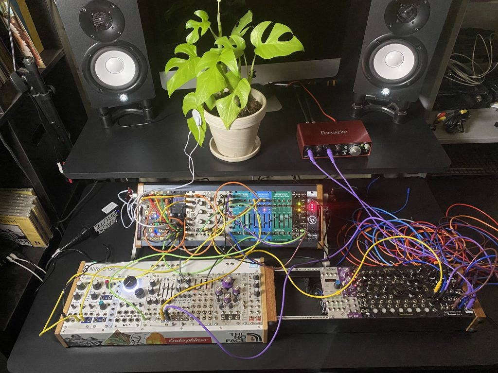 Overview of system set up for modular biofeedback recording