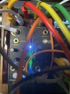 Close up of Scion module