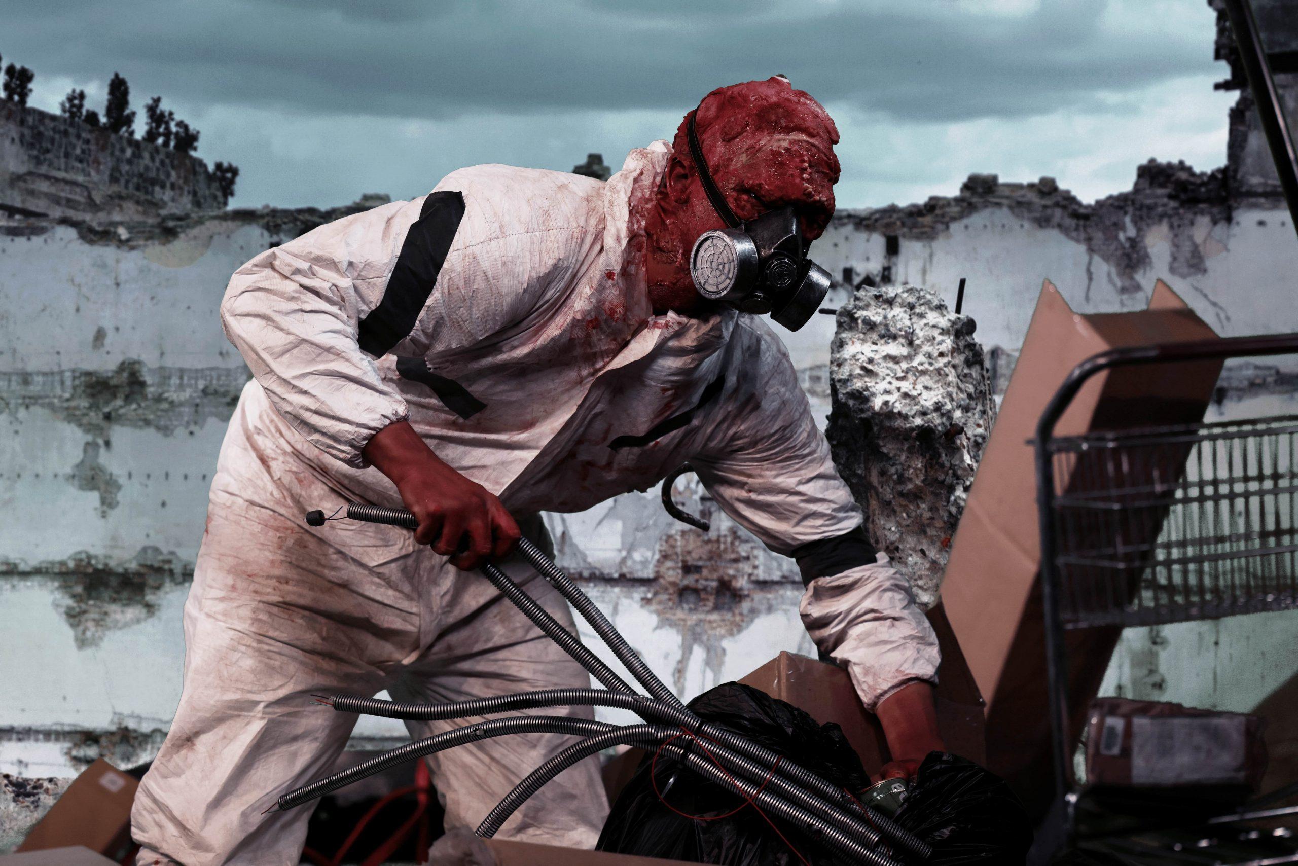 Radioactive Character in Apocalypse Waste